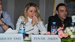 Pınar Aylin gözyaşlarını tutamadı