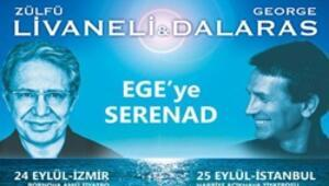 Livaneli ve Dalaras'tan serenad