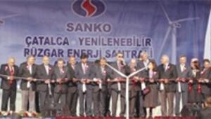 Sanko, 'rüzgar'a 100 milyon dolar yatırdı, 122 bin evi aydınlatacak