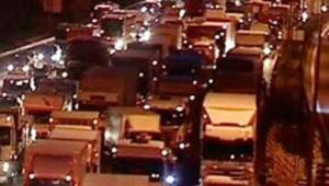 İstanbulda hafta sonu yoğunluğu