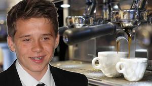 Beckham'ın oğlu kafede garsonluk yapıyor