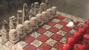 Guinnesse giren satranç koleksiyonu Ankarada