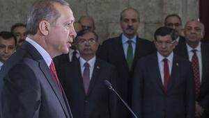 Erdoğandan 30 Ağustos mesajı