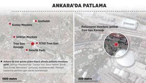 Ankara Tren Garı kavşağında patlama