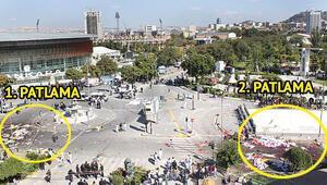 Ankara tren garı önünde patlama: 95 ölü, 48i ağır 246 yaralı