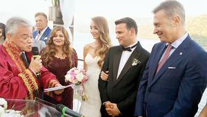 Beşiktaş düğünde coştu