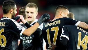 Premier Ligde lider Leicester City