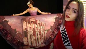 Türkiye güzeli Aslı Melisa Uzun dünyayı salladı