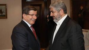 Başbakan Davutoğlu, Halid Meşalle görüştü