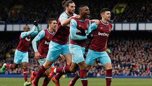 Everton 2-3 West Ham United