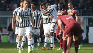 Torino derbisinde Juve farkı