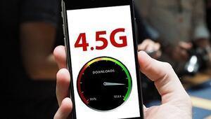 4.5G uyumlu telefonlar hangileri 4.5G ne zaman kullanılmaya başlanacak