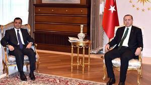 Erdoğan, Zühtü Arslanla görüştü