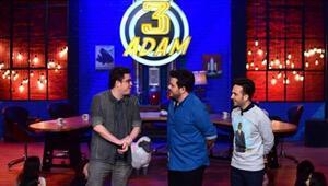 3 Adam yeni bölüm konukları kim - 9 Nisan 2016