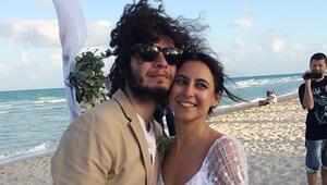 Güntaç Özdemir ve Beril Goral evlendi