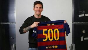 500ler kulübünün son üyesi Messi
