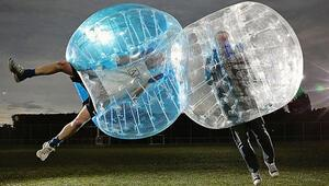 Big Bubble futbol tanıtımı Ankarada yapıldı