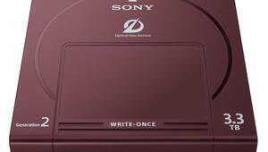 Sonyden ikinci nesil optik disk arşivi sistemi