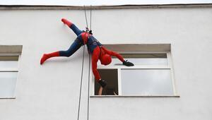 Bir anda pencerede onları gördüler