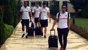 Beşiktaş kafilesi Avusturyaya gitti
