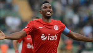 Antalyaspordan Samuel Etooya: Takım bul, git
