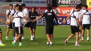 Beşiktaşta affedilen Sosa idmana çıktı