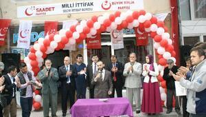 Devrek Saadet Partisi Seçim Ofisini Açtı