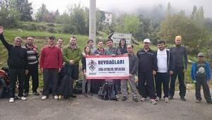 Beydost Topluluğu, Hisarcandır'a Yürüyüş Düzenledi