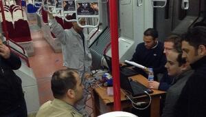 Samulaş Cnr Tramvaylarında Fren Testi Yaptı
