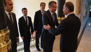 AFAD Başkanı Dr. Fuat Oktay, Vali Tapsız'ı Ziyaret Etti