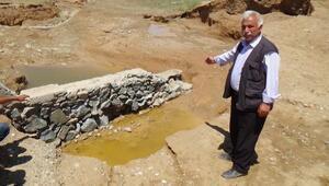Aksaray'da Sel Köy Yolunu Yıktı
