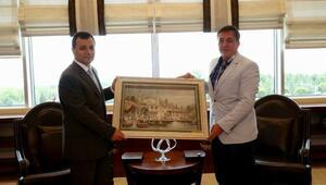 Pursaklar'dan AYM Başkanı'na Ziyaret