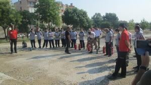Forum Magnesia'da Yangın Tatbikatı