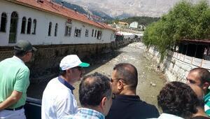 DSİ Kumluca, Kaş Ve Finike'de Dere Islahına Devam Ediyor
