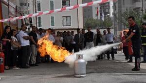 Adana Adliyesi Personeline 'Acil Durum Eğitimi'