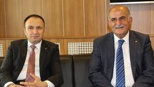 Kazancıoğlu'ndan, Başkan Erkoç'a Ziyaret