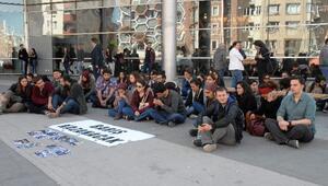 Eskişehir'de, Ankara'daki Patlamayı Protesto Eylemi