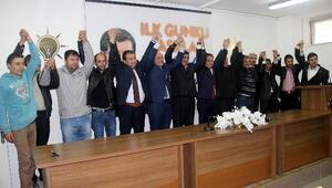 AK Parti'ye Katıldılar