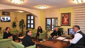 Ressamlar Derneği'nden Başkan Can'a Ziyaret