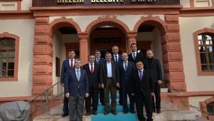 AK Parti Yerel Yönetimler Başkan Yardımcısı Şeker'den Belediye Başkanı Selim Yağcı'ya Ziyaret