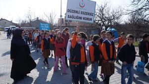 Malatyalılar sağlık için yürüdü