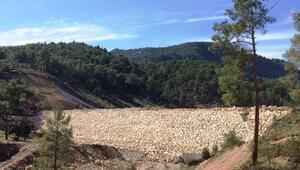 Adrasan Baraj inşaatının yarısı tamamlandı