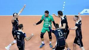 Halkbank, Şampiyonlar Ligine altın sette veda etti