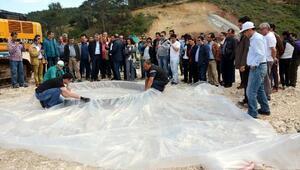 DSİ heyetinden Adrasan Barajında inceleme