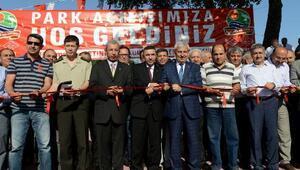 Kumlucada Yavuz Sultan Selim Parkı ve üst geçidi açıldı
