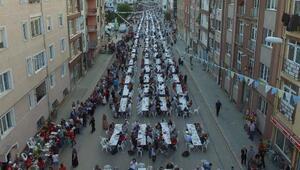 Eskişehirde 15 bin kişiye iftar