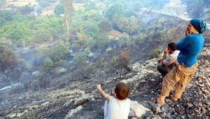 Kumlucada yerleşim yerleri içinde yangın dehşeti (3)