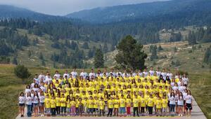 Fenilketonüri hastası çocuklar kampta buluştu