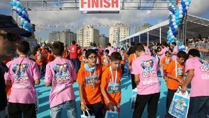 Avrupa Yakasının en büyük çocuk maratonu Başakşehirde koşuldu