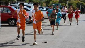 Manisalı sporcular 10 Kasım Atatürkü Anma Koşusunda yarıştı